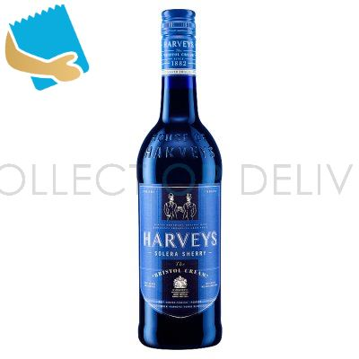 Harveys The Bristol Cream Solera Sherry 75Cl