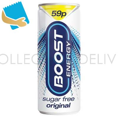 Boost Energy Sugar Free Original 250Ml