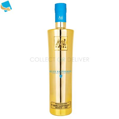 Au Vodka Blue Raspberry Flavoured Vodka Spirit Drink 70Cl