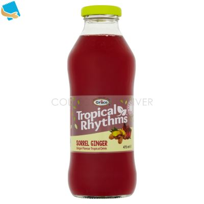 Grace Tropical Rhythms Sorrel Ginger 475Ml