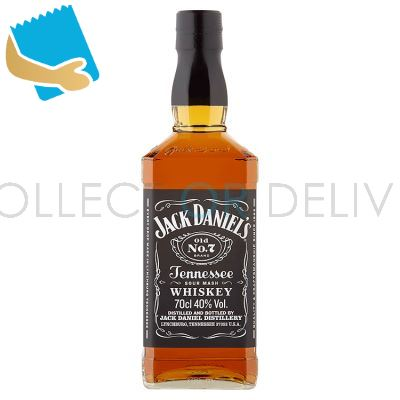 Jack Daniel's Old No. 7 Tennessee Whiskey 70Cl