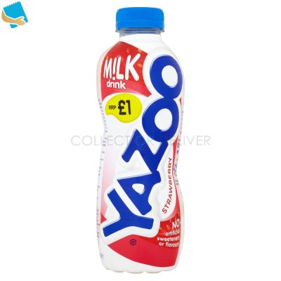 Yazoo Strawberry Milk Drink 400Ml