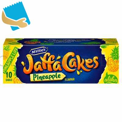 Mcvitie's 10 Jaffa Cakes Pineapple Flavour