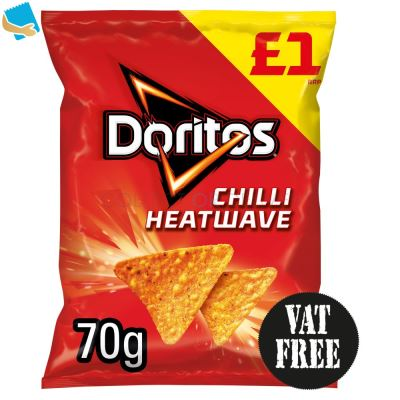 Doritos Chilli Heatwave Tortilla Chips 70G