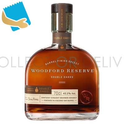 Woodford Reserve Double Oaked Bourbon Whiskey 70cl