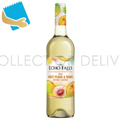 Echo Falls Fruit Fusion Peach & Mango 750Ml