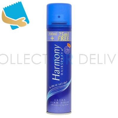 Harmony Hairspray Extra Firm with Protective Ingredients 225ml