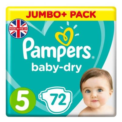 Pampers size 5 Jumbo Pack