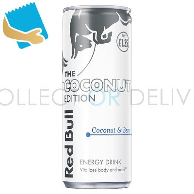 Red Bull Energy Drink, Coconut Berry, PM , 250ml (12 Pack)