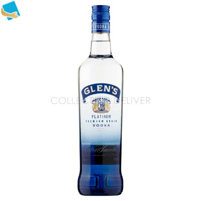 Glen's Platinum Premium Grain Vodka 70Cl