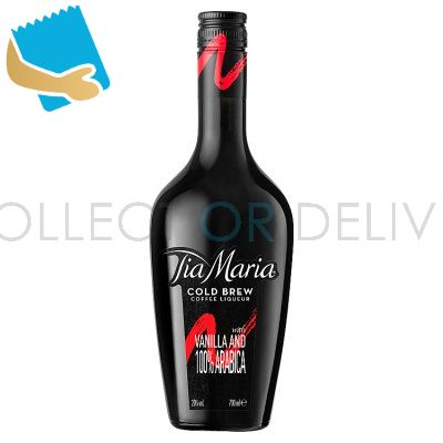 Tia Maria Cold Brew Coffee Liqueur With Vanilla And 100% Arabica 700Ml