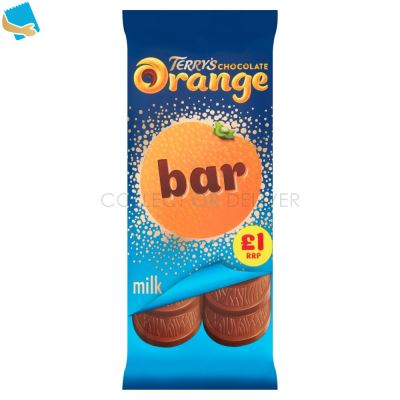 Terry's Chocolate Orange Milk Bar 90G