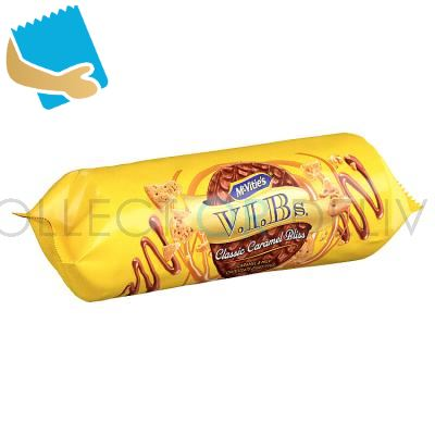 McVitie's V.I.Bs Classic Caramel Bliss Biscuits 250g