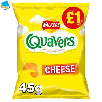 Walkers Quavers Cheese Snacks 45G