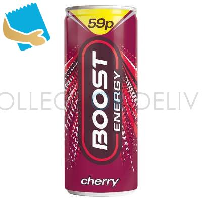Boost Energy Cherry 250Ml