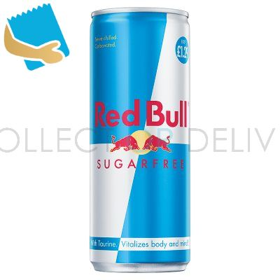 Red Bull Energy Drink, Sugar Free, PM 250Ml (24 Pack)