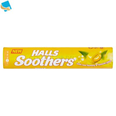 Halls Soothers Honey and Lemon 45g