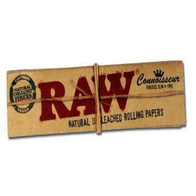 Raw Kingsize Slim And Tips