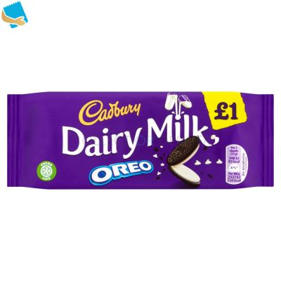 Cadbury Dairy Milk With Oreo Chocolate Bar 120G