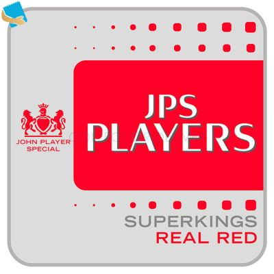 JPS Players Superkings Real Red 20