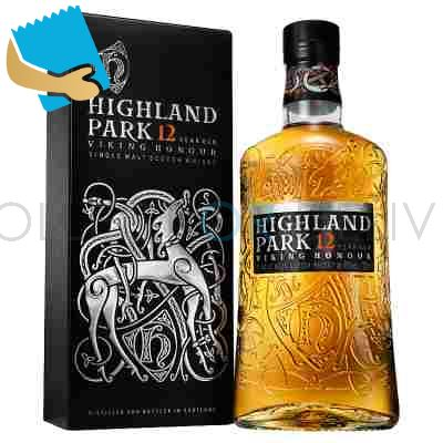 Highland Park 12 Year Old Single Malt Scotch Whisky 70Cl