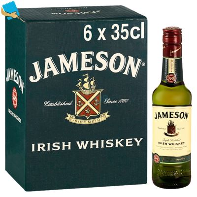 Jameson Irish Whiskey 6 X 35Cl