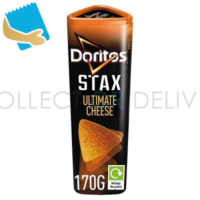 Doritos Stax Ultimate Cheese Sharing Snacks 170G