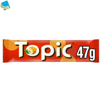 Topic Chocolate Bars Multipack 4 X 47G