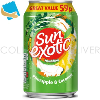 Sun Exotic Sparkling Pineapple & Coconut