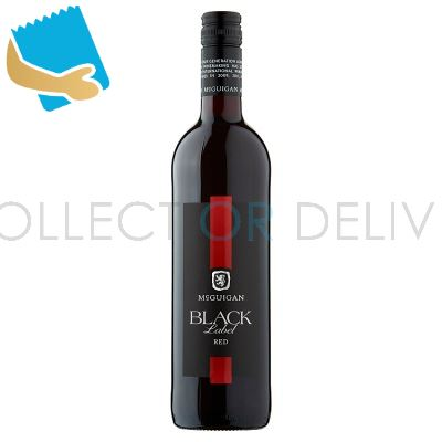 Mcguigan Black Label Red 75Cl