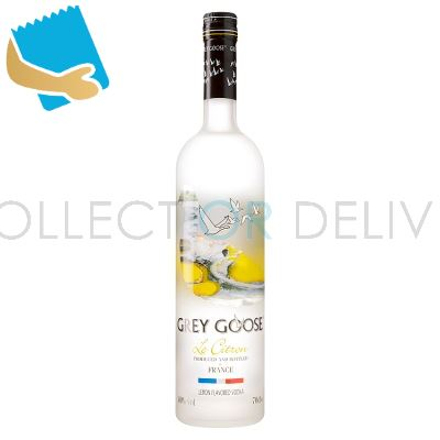 Grey Goose Le Citron Vodka 70Cl