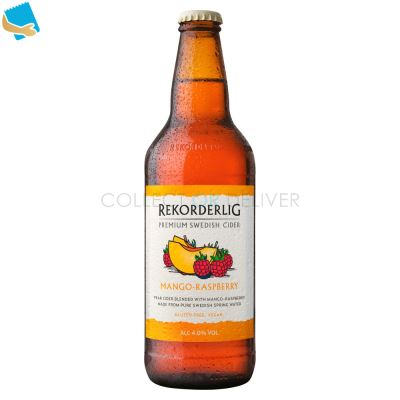 Rekorderlig Premium Swedish Mango-Raspberry Cider 500Ml