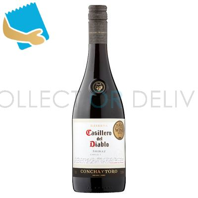 Casillero Del Diablo Shiraz 75Cl