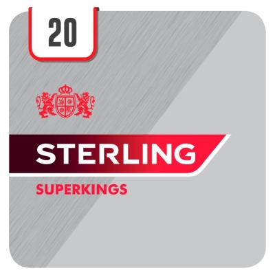 Sterling Superkings Red 20 Cigarettes