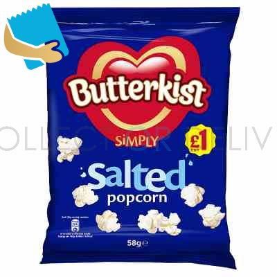 Butterkist Simply Salted Popcorn 58G
