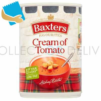 Baxters Favourites Cream of Tomato Soup 400g