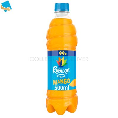 Rubicon Sparkling Mango Juice Drink 500Ml