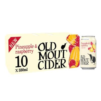 Old Mout Cider Pineapple Raspberry 10 X 330Ml