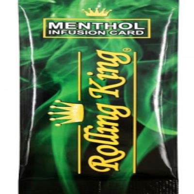 Rolling King Menthol infusion Card