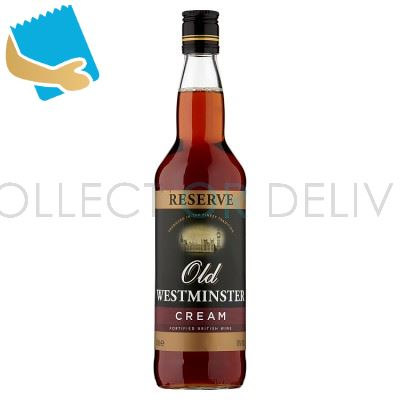 Old Westminster Reserve Cream 70cl