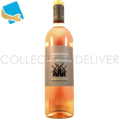 Three Mills Pinot Grigio Blush 75Cl