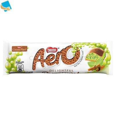 Aero Bubbly Peppermint Mint Chocolate Bar 36G