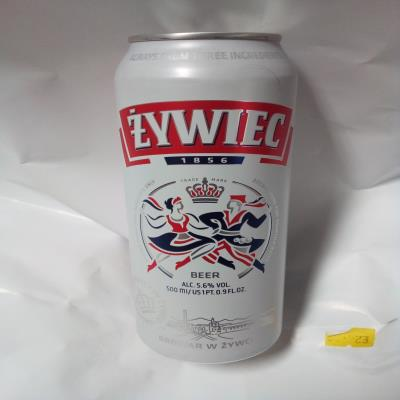 Zywiec Beer Can