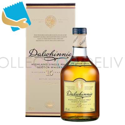 Dalwhinnie 15 Years Old Single Malt Scotch Whisky 70Cl