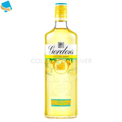 Gordon's Sicilian Lemon Distilled Gin 70Cl