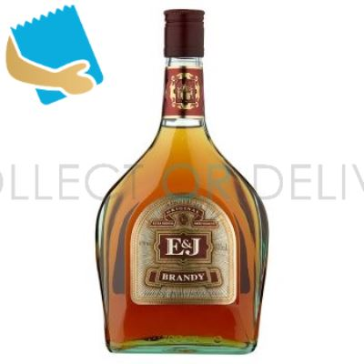 E&J Original Brandy 700Ml