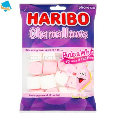 HARIBO Chamallows Pink & White Bag 140G