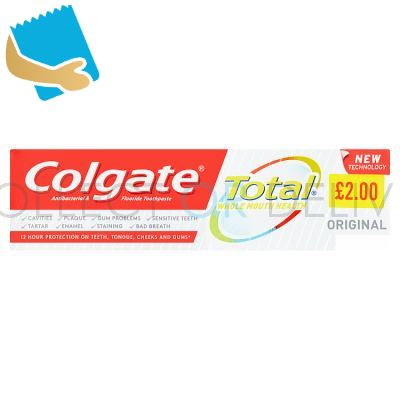Colgate Total Whole Mouth Health Original Toothpaste 75ml