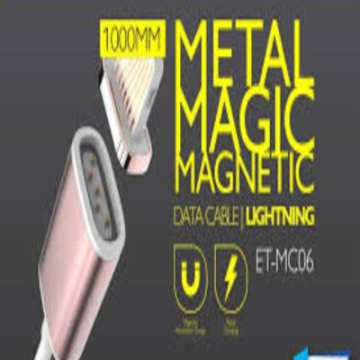 Earldom Metal Magic Magnetic USB Data Cable for iPhone