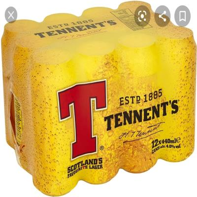 Tennant's Lager 12 Pack Can 440ml